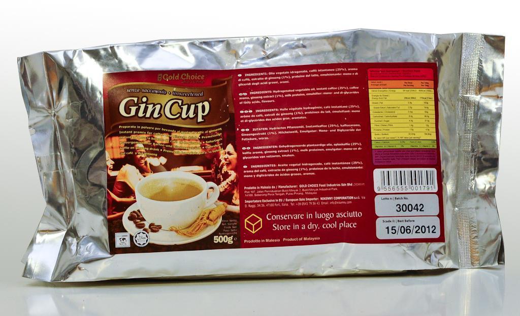 Gin Cup al Ginseng