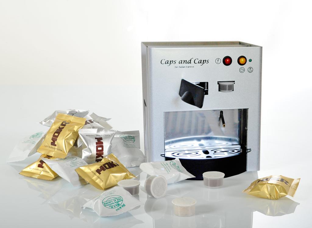 Macchina caffè espresso per capsule monodose